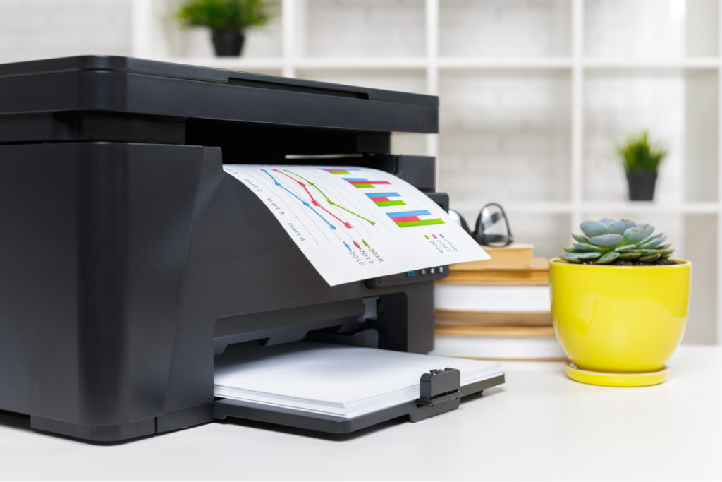 Home Office Printer To Be Packed