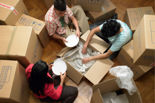 How To Pack Plates Dishes For Moving