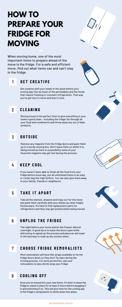 How To Prepare A Fridge For Moving