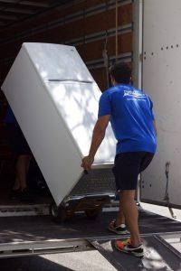 moving a fridge