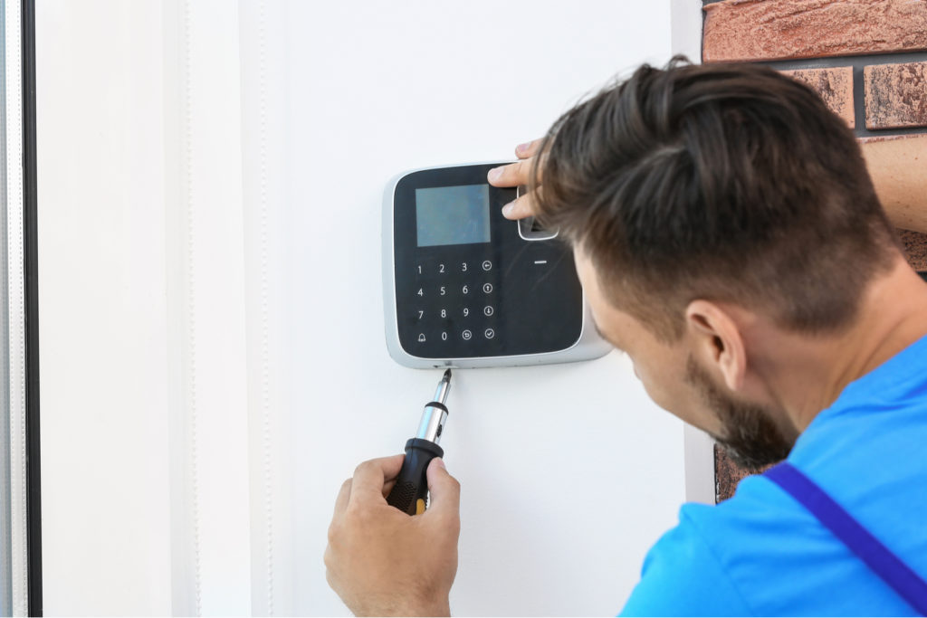 Install Security System In First Home