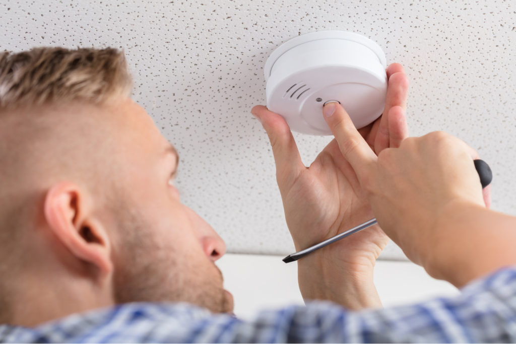 Install Smoke Detectors In First Home
