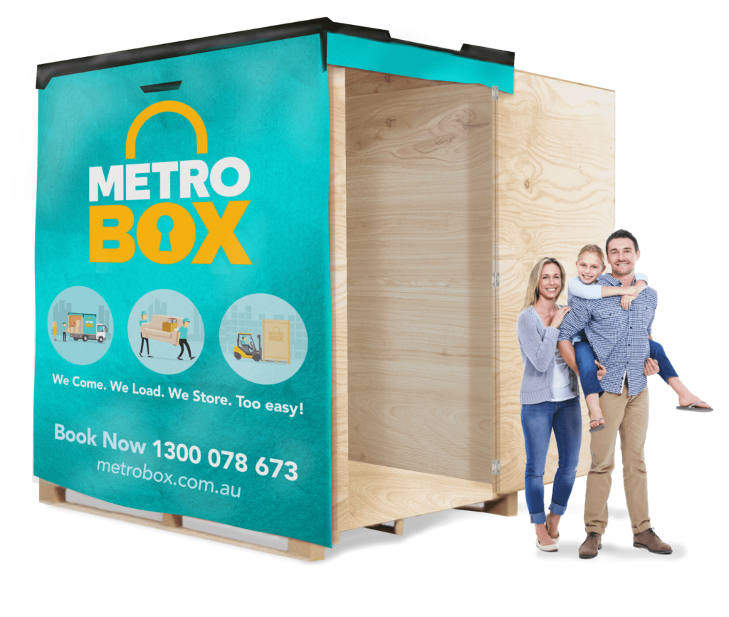 MetroBOX mobile storage unit