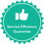 Efficient Service Guarantee