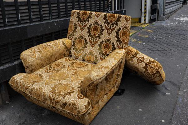 Throw Old furniture